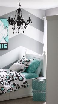 + 15 Essential Things For Grey And White Bedroom Ideas Teen Girl Rooms Gray 35
