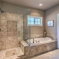 17+ To consider For master bathroom shower ideas walk in tile benches