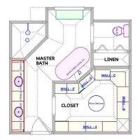 41 Master Bathroom Ideas Remodel Layout Floor Plans Walk In Shower Guide 7