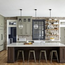 +41 To Consider For Farmhouse Kitchen Cabinets Design Ideas 73