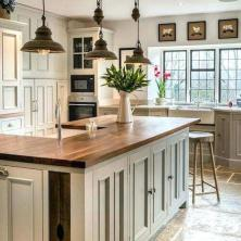 +41 To Consider For Farmhouse Kitchen Cabinets Design Ideas 79
