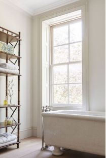 41 + Types Of Guest Bathroom Ideas Half Baths Floating Shelves 134