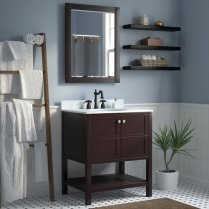 41 + Types Of Guest Bathroom Ideas Half Baths Floating Shelves 42