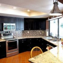 +44 Finding Dark Kitchen Cabinets And Light Granite 42