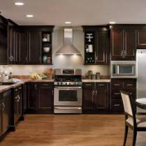 +44 Finding Dark Kitchen Cabinets And Light Granite 43