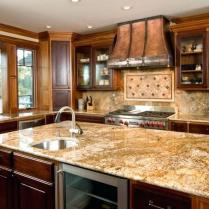 +44 Finding Dark Kitchen Cabinets And Light Granite 55