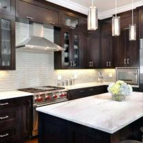 +44 Finding Dark Kitchen Cabinets And Light Granite 59
