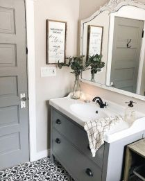 46+That Will Motivate You Farmhouse Bathroom Colors Rustic 19