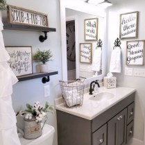 46+That Will Motivate You Farmhouse Bathroom Colors Rustic 62