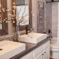 46+That Will Motivate You Farmhouse Bathroom Colors Rustic 80