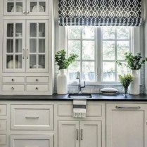 +37 Kitchen Roman Shade In Schumacher Summer Palace Fret In Smoke Is Wrong And Why 22