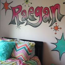 35 We Love Dream Rooms For Teens Girls Bedrooms Wall Art 87