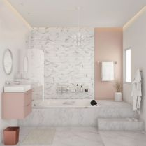 40 Awesome Marble In Shower Design Ideas To Inspire You 117