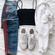 What Everyone Does When It Comes To Fall Outfits For Teen Girls For School Casual Jeans 17