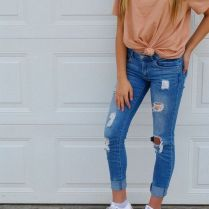 What Everyone Does When It Comes To Fall Outfits For Teen Girls For School Casual Jeans 68