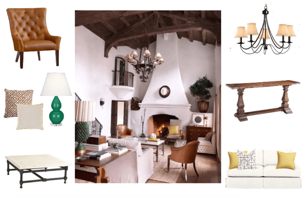 Get The Look: Reese Witherspoon's Elegant Rustic Ranch