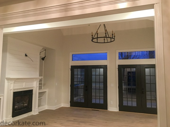 Double Set of French Style Doors