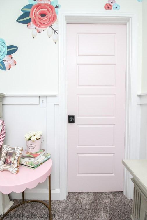 Blush Pink Door