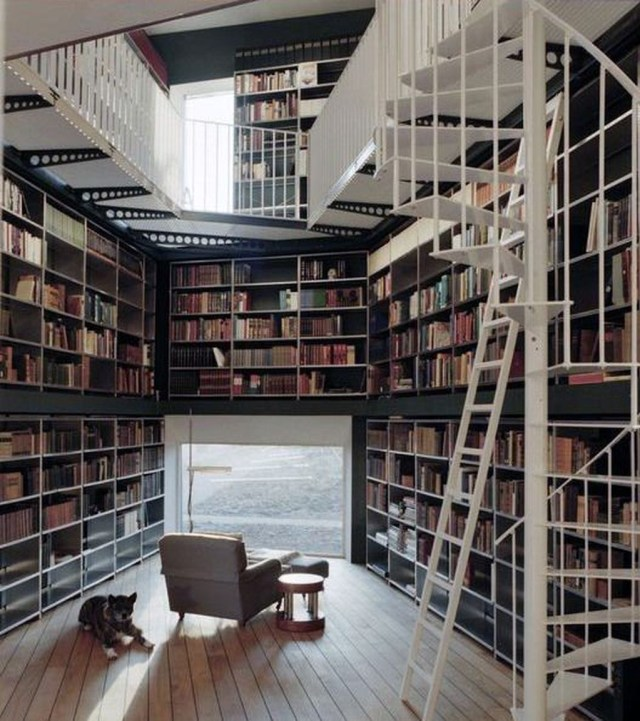 Smart Library Design Ideas For Home To Add To Your List 05