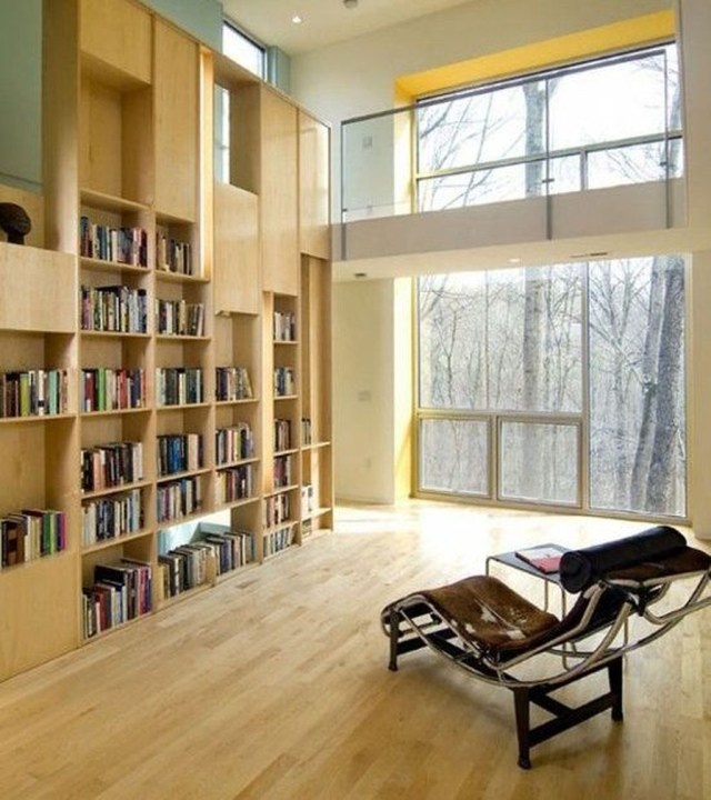 Smart Library Design Ideas For Home To Add To Your List 08