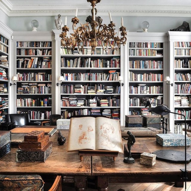 Smart Library Design Ideas For Home To Add To Your List 17
