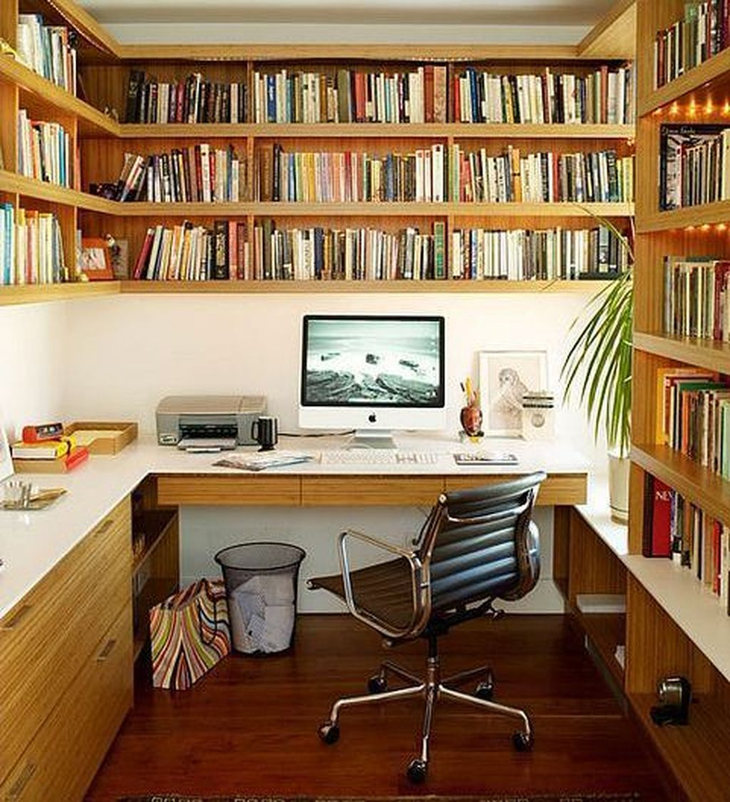 Smart Library Design Ideas For Home To Add To Your List 20