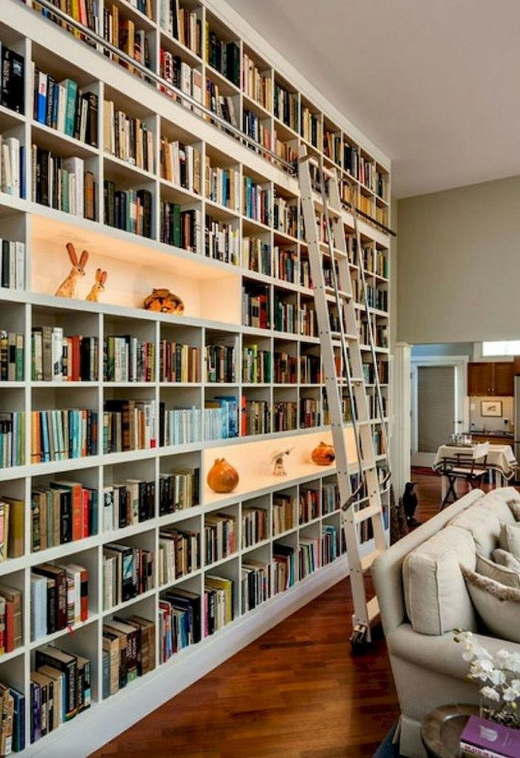 Smart Library Design Ideas For Home To Add To Your List 22