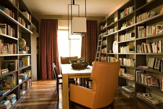 Smart Library Design Ideas For Home To Add To Your List 25
