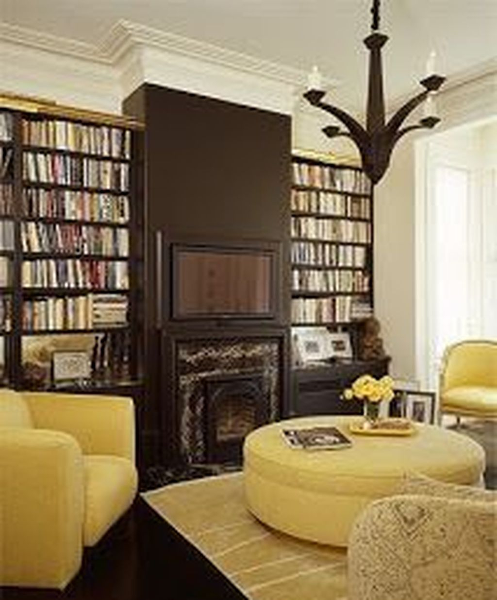 Smart Library Design Ideas For Home To Add To Your List 27