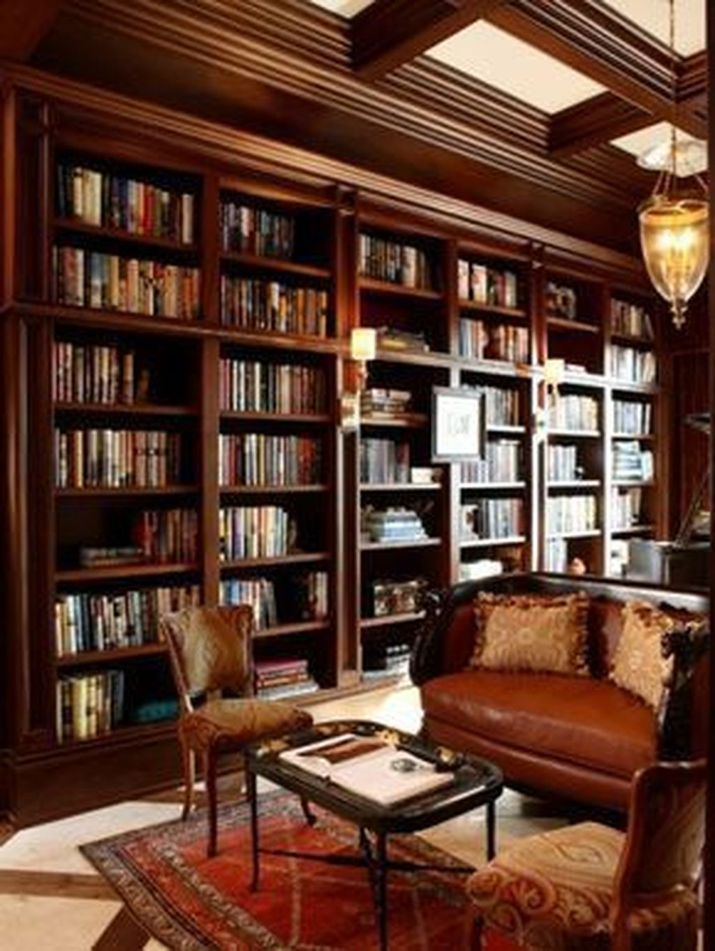 Smart Library Design Ideas For Home To Add To Your List 36