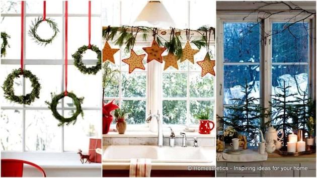 Beautiful Window Decorating Ideas For Christmas 35