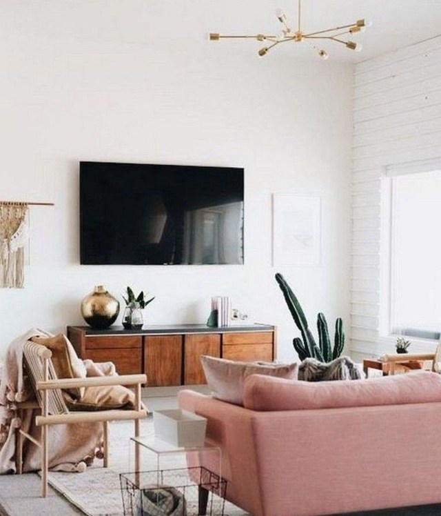 Best Minimalist Living Room Decorations Ideas 03