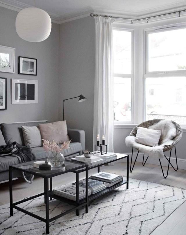 Best Minimalist Living Room Decorations Ideas 07