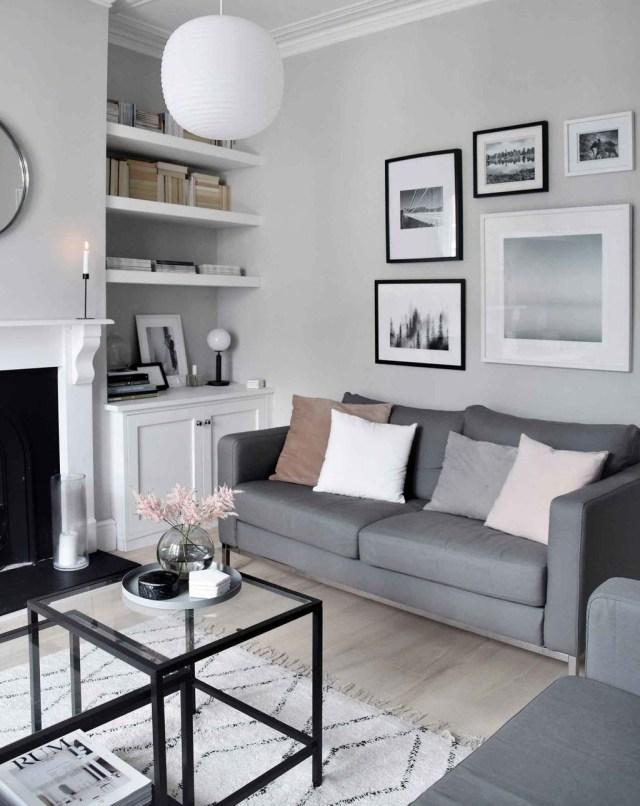 Best Minimalist Living Room Decorations Ideas 27