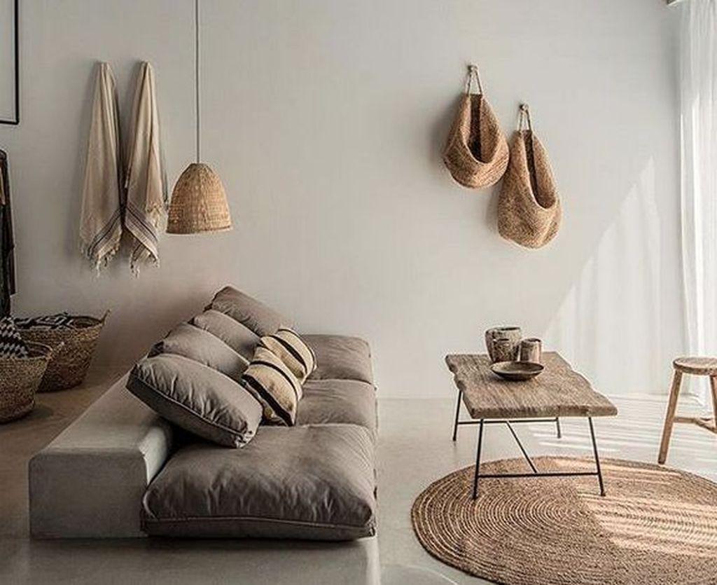 Best Minimalist Living Room Decorations Ideas 32
