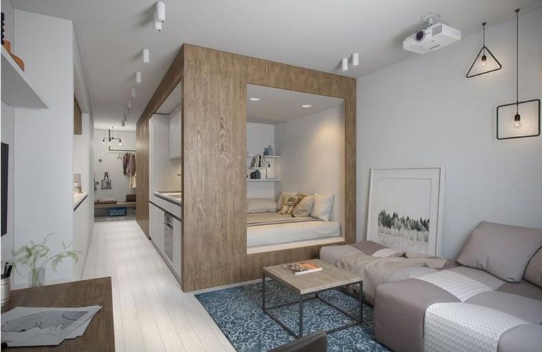 Brilliant Small Apartment Interior Design Ideas 08