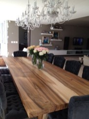 Brilliant Wood Dining Table Design Ideas That Trend Today 02