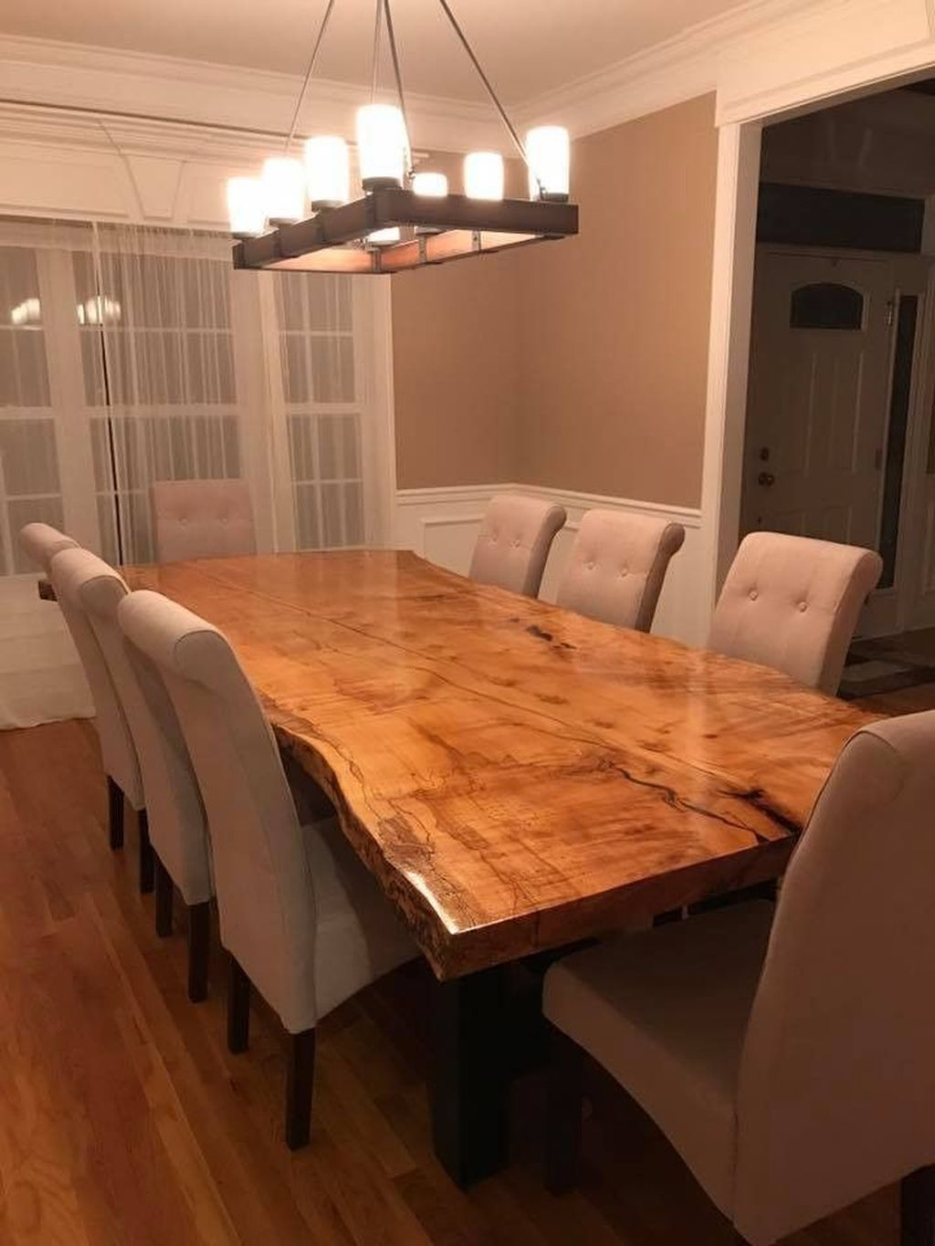 Brilliant Wood Dining Table Design Ideas That Trend Today 04