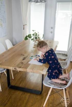 Brilliant Wood Dining Table Design Ideas That Trend Today 08