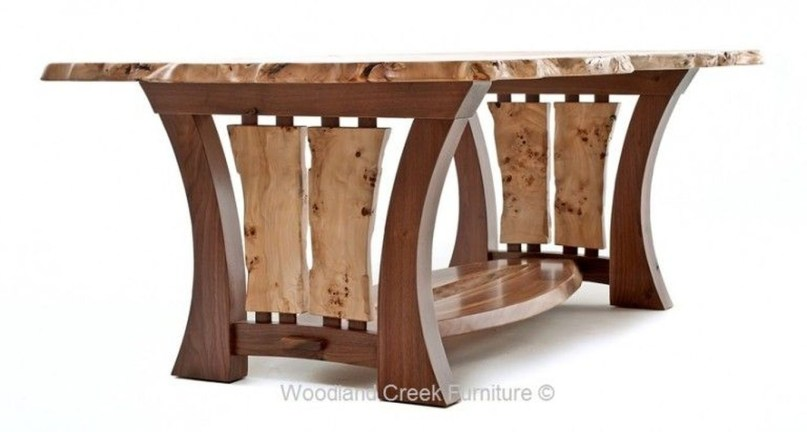 Brilliant Wood Dining Table Design Ideas That Trend Today 16
