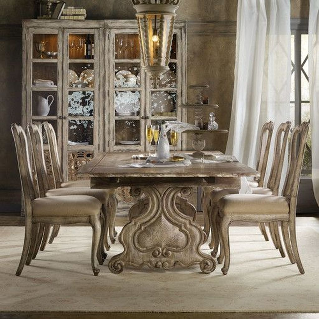 Brilliant Wood Dining Table Design Ideas That Trend Today 19