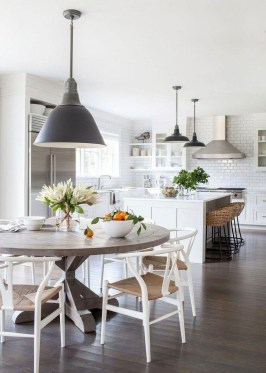 Brilliant Wood Dining Table Design Ideas That Trend Today 26