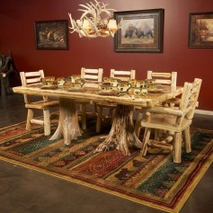 Brilliant Wood Dining Table Design Ideas That Trend Today 27