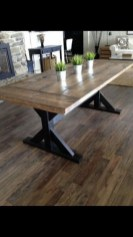 Brilliant Wood Dining Table Design Ideas That Trend Today 28