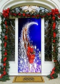 Creative Christmas Door Decoration Ideas To Inspire You 06