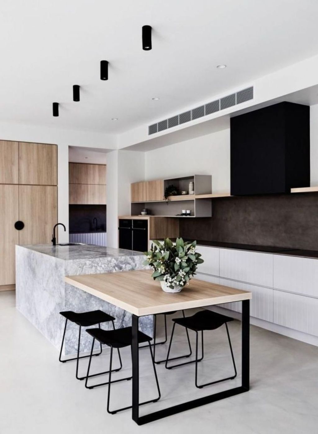 Elegant Minimalist Kitchen Design Ideas For Small Space To Try 07