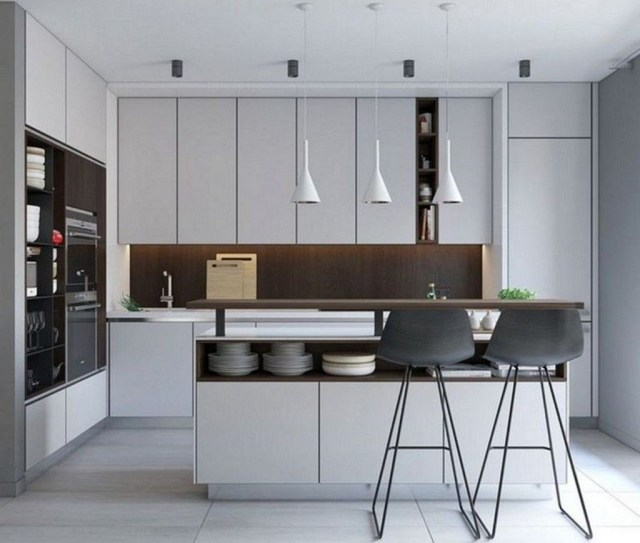 Elegant Minimalist Kitchen Design Ideas For Small Space To Try 19