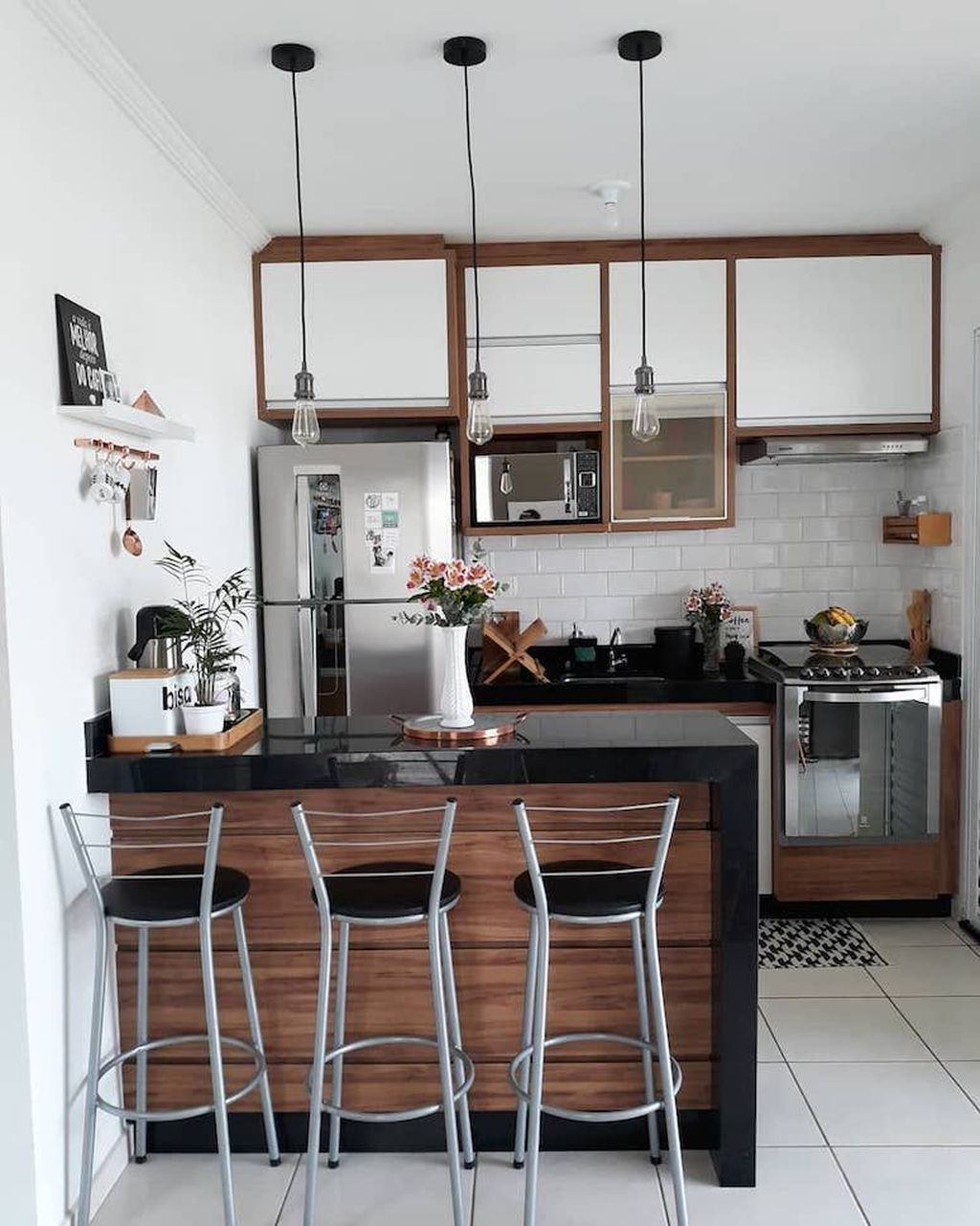 Elegant Minimalist Kitchen Design Ideas For Small Space To Try 34