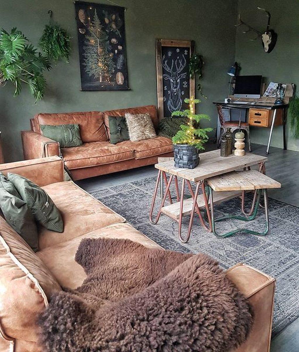 Enchanting Living Room Decor Ideas That Trending This Winter 07