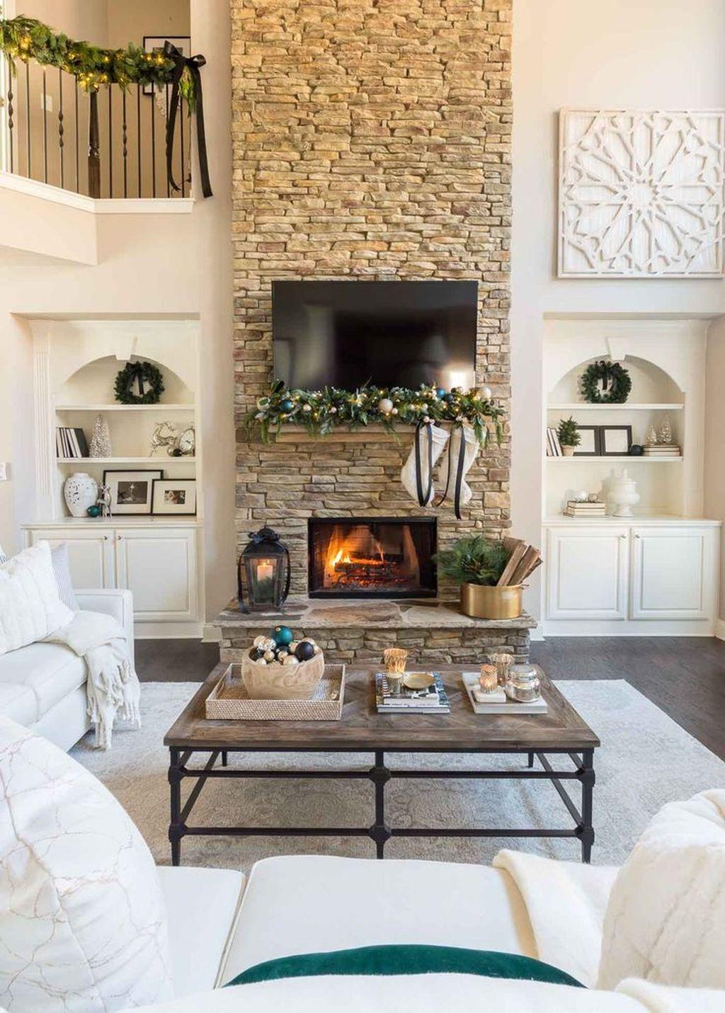 Enchanting Living Room Decor Ideas That Trending This Winter 23